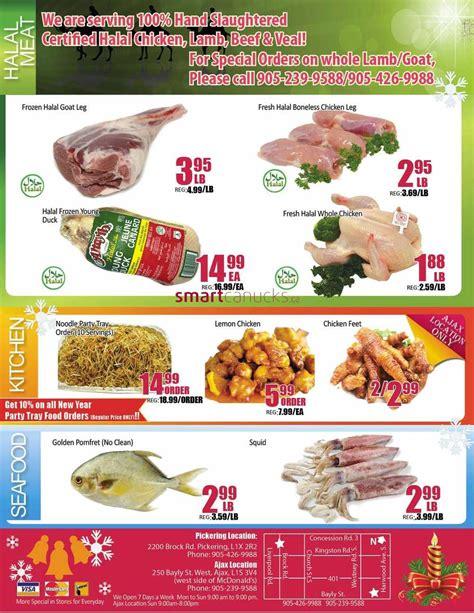 EZ Fresh Supermarket flyer December 26 to January 1