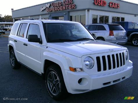 white jeep patriot 2009 stone white jeep patriot sport 4276141 gtcarlot