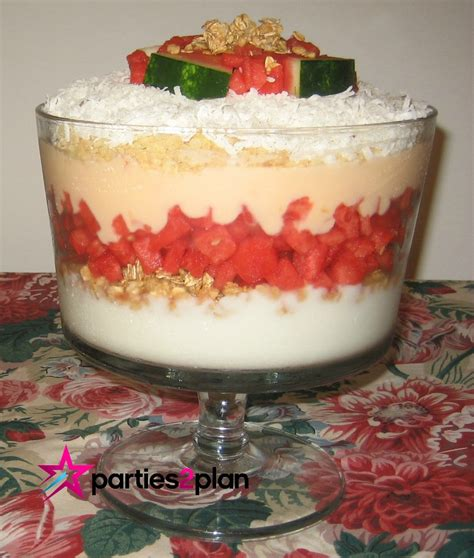 recipe breakfast six layer trifle parties2plan