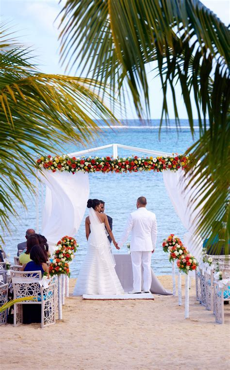Beach wedding at the C Beach Club at Heritage Resorts, in
