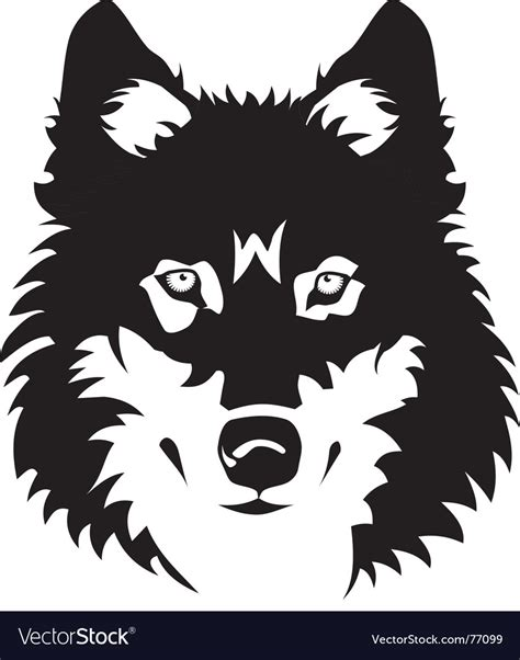 wolf royalty free vector image vectorstock