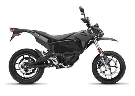 motor cycle 2017 zero fxs electric motorcycle profile right white