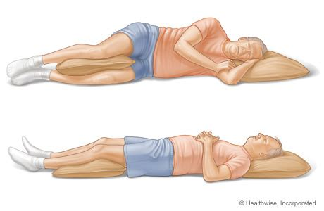 how to sleep comfortably on your back sleeping with back pain