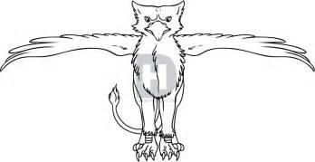 how to draw a cartoon griffin step by step gryphons