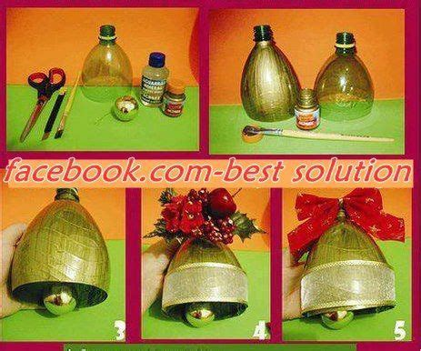 how to make christmas bells at home home made pop bottle bell recycle reuse pop bottles bottle and plastic bottles