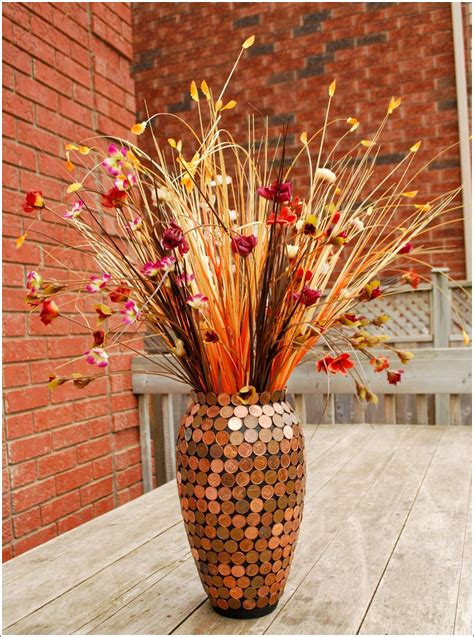 vase decoration ideas would you like to decorate a vase with just coins