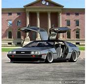 This May Just Be The Baddest Delorean In World Id