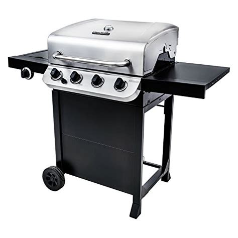 char broil 4 burner stainless steel gas grill with cabinet char broil 463376017 performance 4 burner cart gas grill stainless steel barbecue smokers and