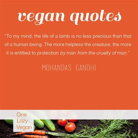 Vegan Quotes ? One Lazy Vegan