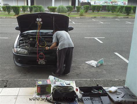 Kipas Wira sejuk segar nyaman servis aircond kereta jenis