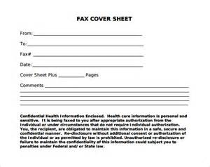 sample fax cover sheet 11 documents in pdf word