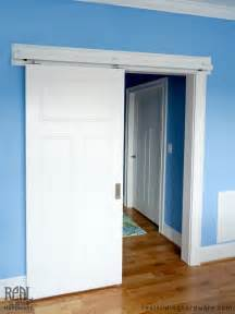 Interior Doors On Rails Barn Door Hardware Traditional Bedroom Other By Real Carriage Door Sliding Hardware