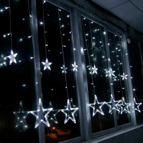 Lumineux Exterieur 1119 by Led Curtain String Lights Window Curtain L