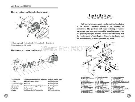 guides u0026 advice installing an eberspacher diesel