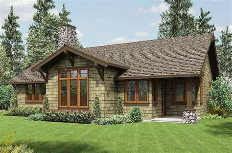 rustic craftsman home plan 69521am 1st floor master