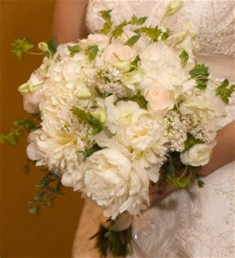 stunning pink peonies greens white roses centerpiece bouquet wedding flower 171 bouquet wedding flower