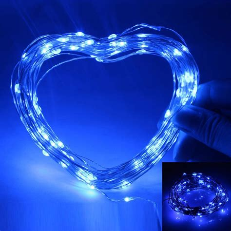 10 mini light string 2 3 5 10m silver wire led mini string light outdoor