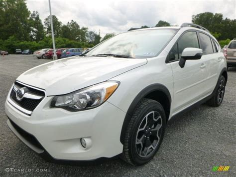 white subaru crosstrek 2015 crosstrek white pearl limited autos post