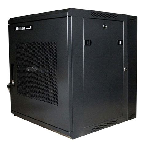Wall Rack Cabinet by Server Rack Cabinet 12u 19in Hinged Wall Mount Server