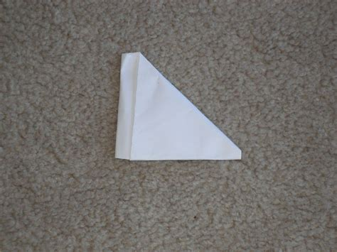 Steps To Make A Paper Football - paper football 3 steps