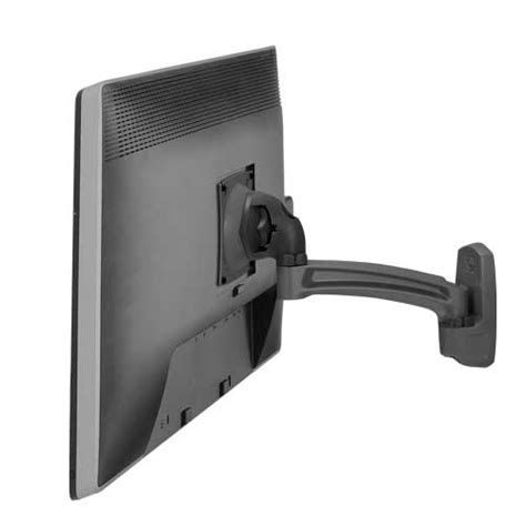 monitor swing arm mount kontour k2w wall mount swing arm single monitor