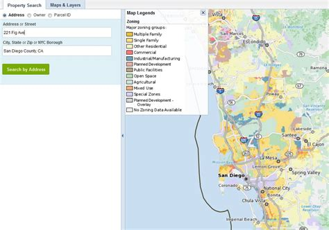 County Of San Diego Property Records San Diego Zoning Map For Your Investing And Development Convenience
