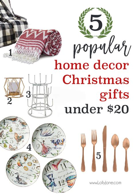 twenty to thirty dollar christmas gifts popular home decor gift ideas for