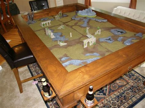 A Custom Made Made In Colorado Gaming Table Is The Rpg Gaming Table