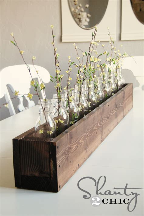 Diy Planter Box Centerpiece by Diy Planter Box Centerpiece Shanty 2 Chic