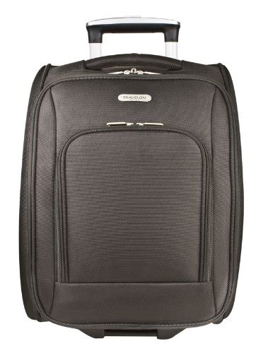 18 Inch Luggage Bag travelon luggage wheeled underseat 18 inch carry on bag