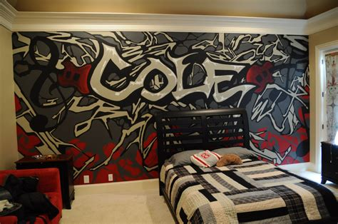 graffiti bedroom accessories a mural that i did for a teenage boy s room my artwork