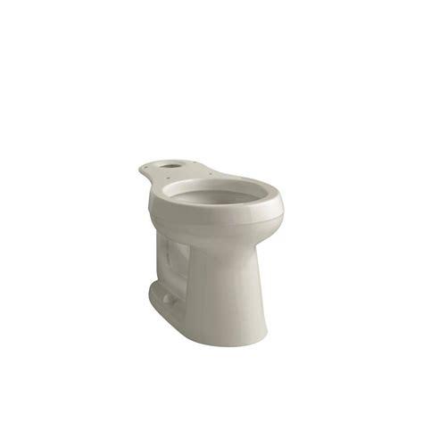 kohler cimarron comfort height round kohler cimarron comfort height round toilet bowl only in