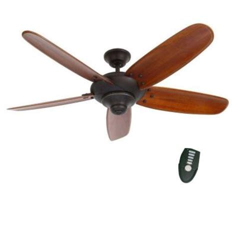 home decorators collection ceiling fan home decorators collection altura 56 in oil rubbed bronze
