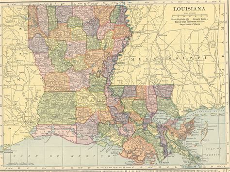 louisiana map hammond the usgenweb archives digital map library hammonds 1910