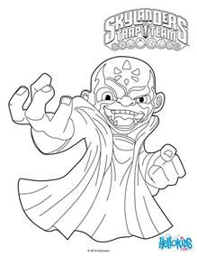 skylanders trap team coloring pages kaos coloring pages hellokids