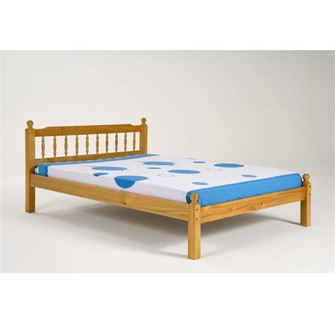small bed frame pine small 4ft bedframe allied furniture