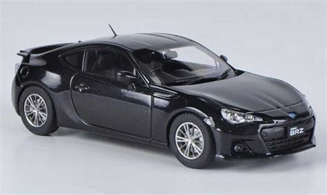 subaru brz black subaru brz black rhd 2012 ebbro diecast model car 1 43