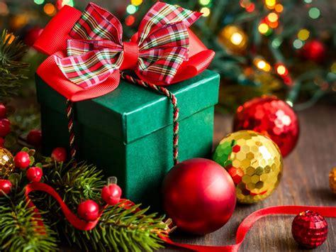 merry christmas gift box hd desktop wallpaper widescreen high definition fullscreen
