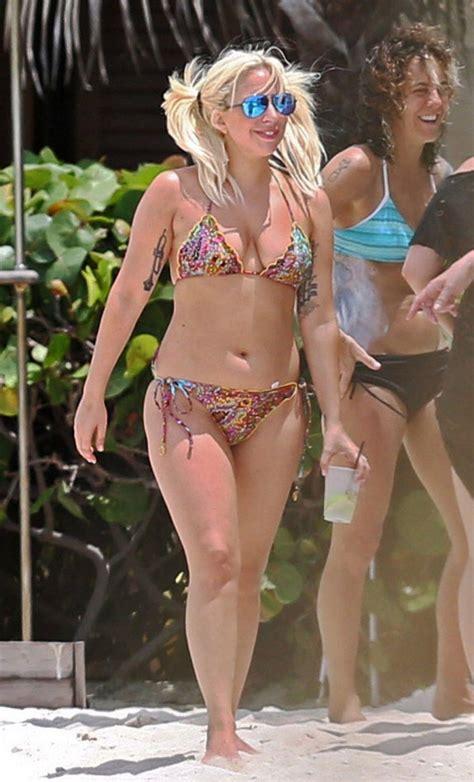 kaia gerber boyu kilosu lady gaga in a bikini on the bahamas june 2015
