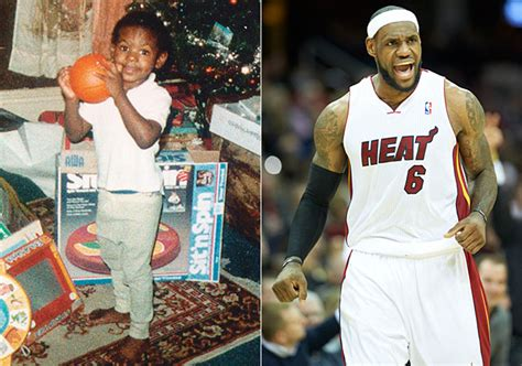 lebron james biography family childhood photos of athletes si com