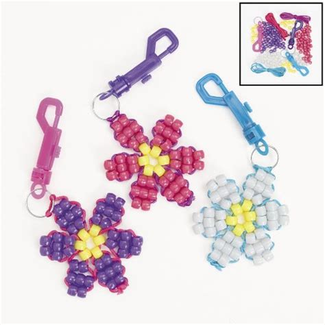 bead keychain patterns free pony bead crafts keychain