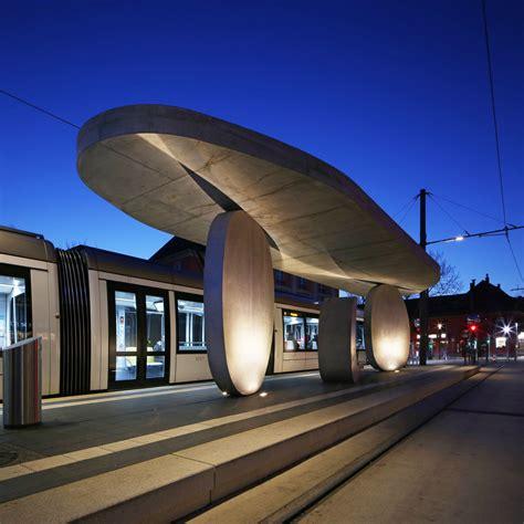 mayer  creates kehl tram stop  stack  exposed