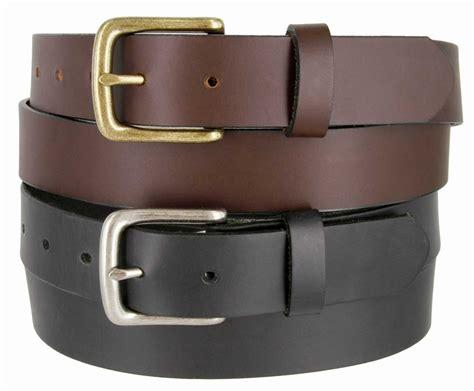 cx16032 s grain leather dress belt black brown 1