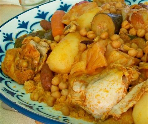 cuisine alg駻ienne couscous recette du couscous oranais recettes