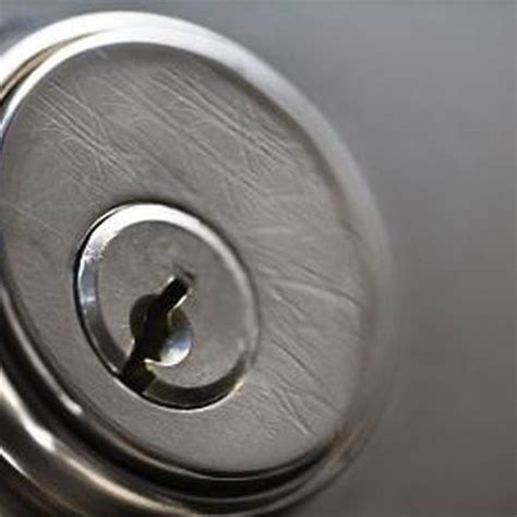 how to remove cylinder door locks home guides sf gate