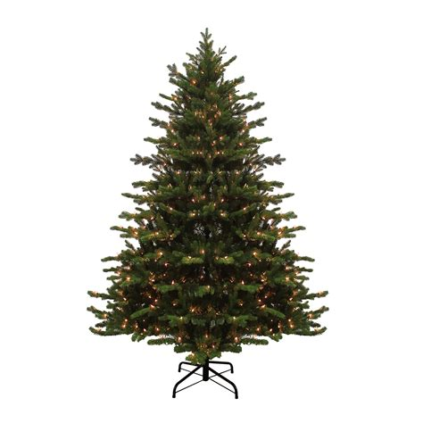 jaclyn smith 7 5 pre lit christmas tree with 600 clear lights