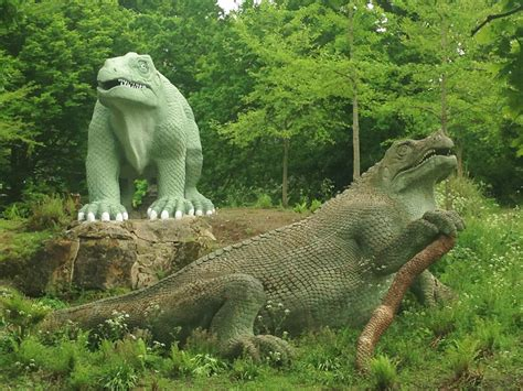 crystal palace dinosaurs  victorian prehistory