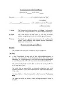 Prenuptial Agreements Templates by 30 Prenuptial Agreement Sles Forms Template Lab