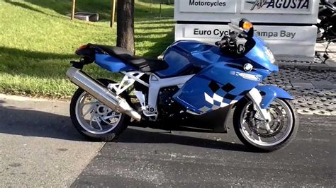 Bmw Motorcycle Youtube by 2005 Bmw K1200 S Blue Sport Touring Motorcycle Youtube