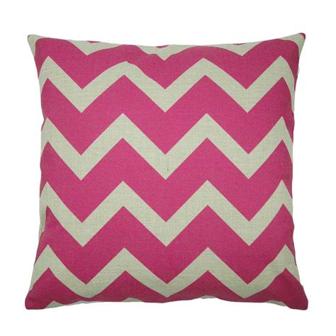 pink cusions buy pink chevron cushion cover online simply cushions
